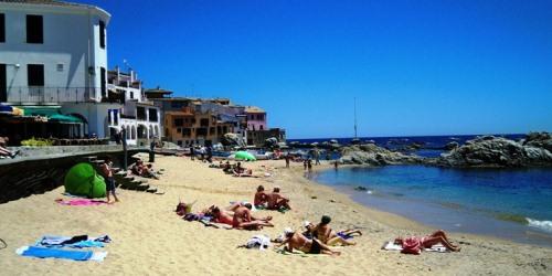 Calella de Palafrugell Beach - Port Bo