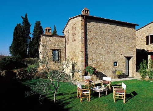 009cn 2 Bedroom House For Rent In Chianti Tuscany
