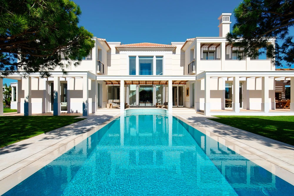 002ev 6 bedroom villa to rent in quinta do lago algarve - Houses to rent in uk with swimming pools ...