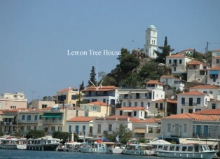 House to Rent Overlooking Poros Harbour