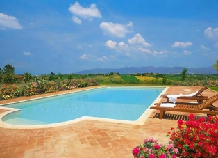 Villa for rent Near Arezzo, Tuscany