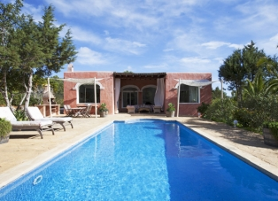 Villa to Rent in Es Cubells, San Jose